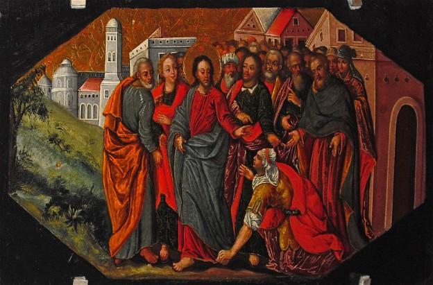 Christ Healing the Hemorrhaging Woman
